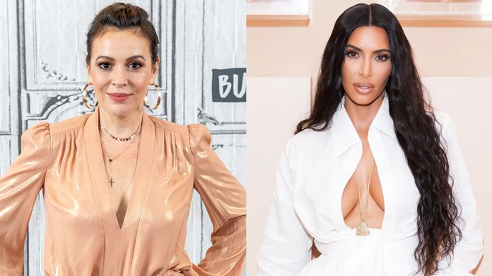 Alyssa Milano, Kim Kardashian and other stars have had to evacuate their homes in Southern California due to Woolsey Fire.