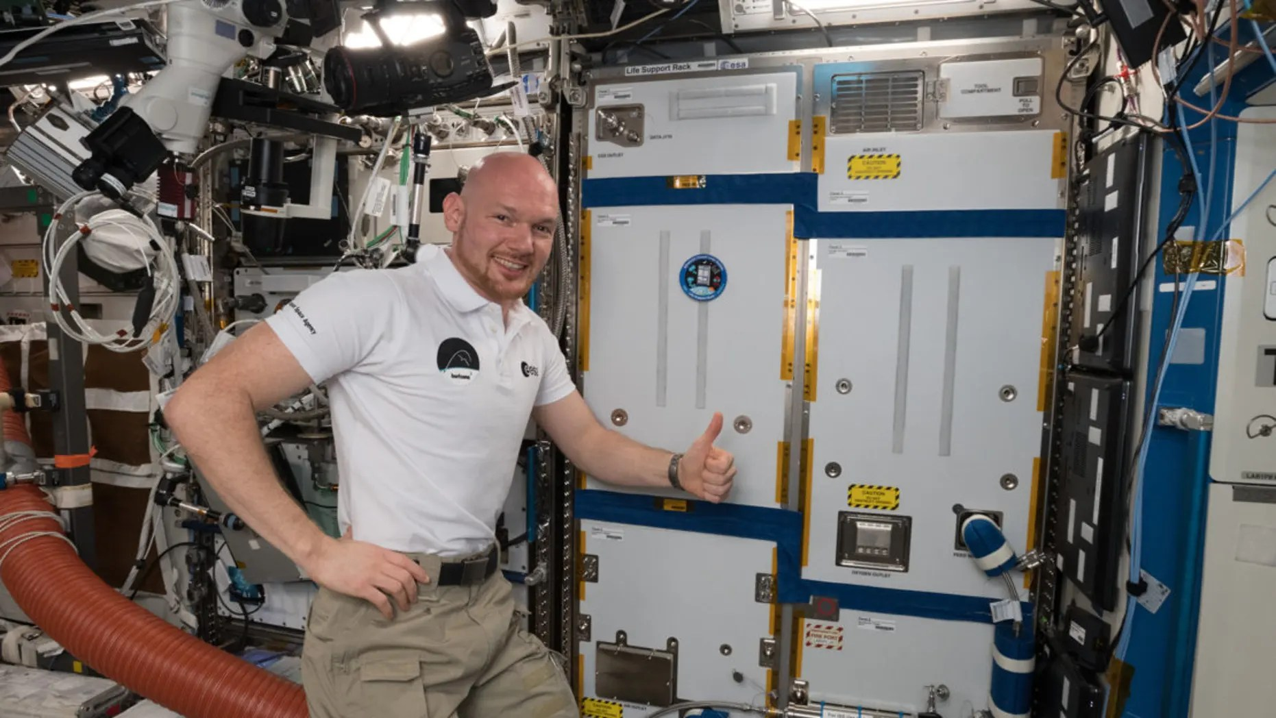 This space station air recycler could help astronauts ...