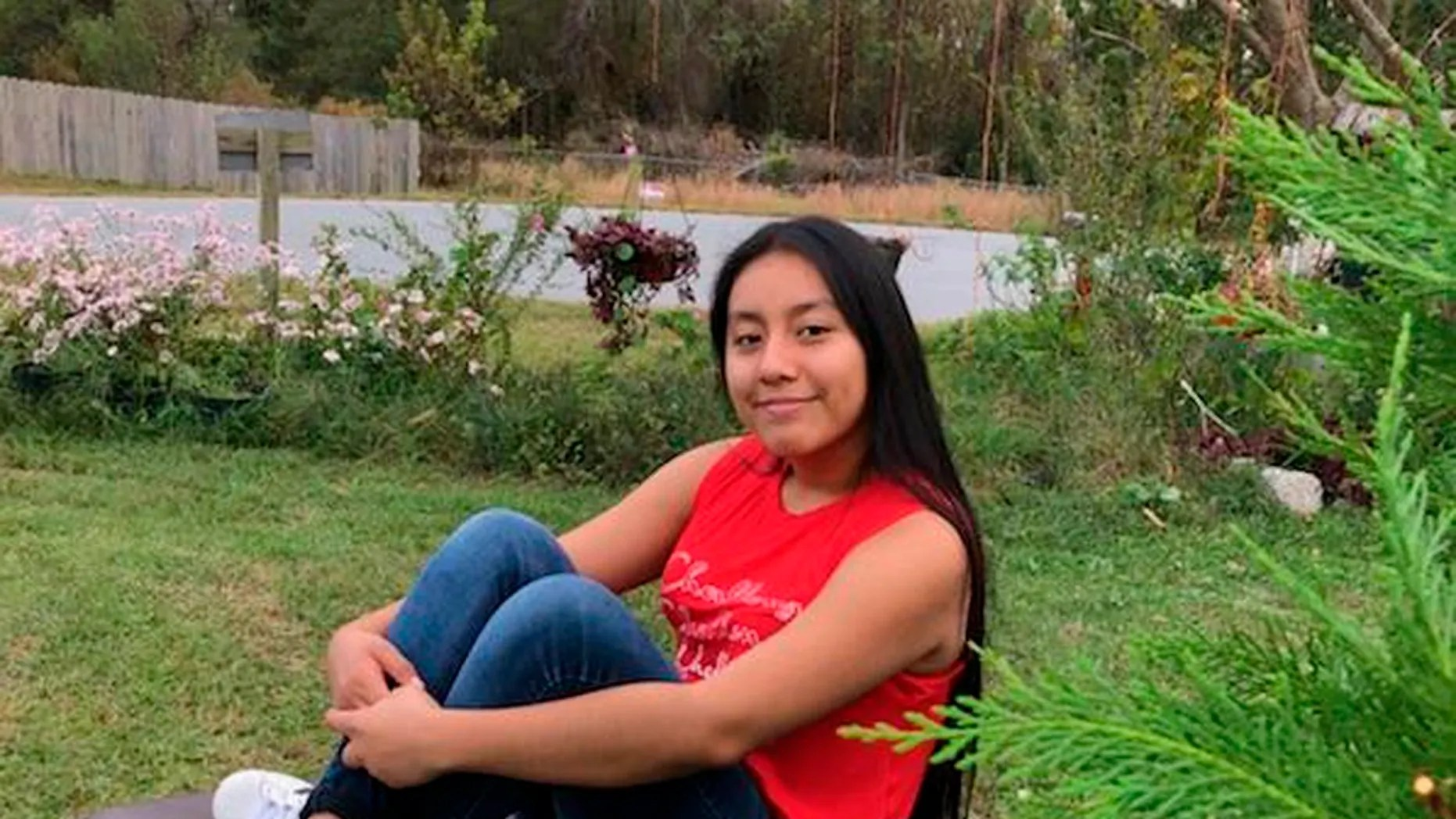 Hania Noelia Aguilar, the day before she went missing in Lumberton, N.C. Investigators believe a body found in North Carolina is Aguilar. (FBI via AP)