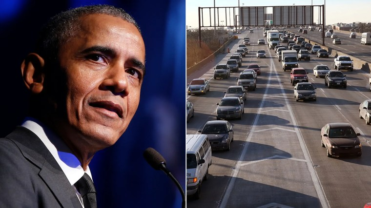Former President Barack Obama should have his name on Chicago's Dan Ryan Expressway, says Bill Daley, a former Obama aide who's running for mayor of Chicago.