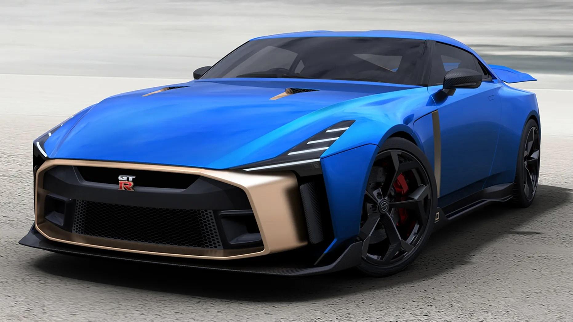 Special Edition Nissan Gt R50 Sports Car Looks Like A Million Bucks Literally Fox News