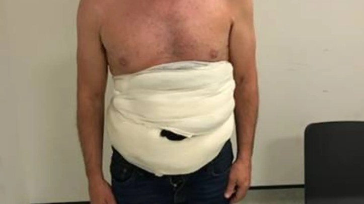 Jeffrey Lendrum, 56, was sentenced to prison after he was stopped at Heathrow airport with up to $127,000 worth of rare bird eggs – including hawk, eagle and vulture eggs – strapped to his chest.