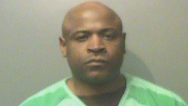 Ivory Washington, 40, allegedly built a grenade at a restaurant.