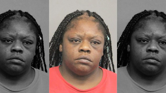 Vilette Hammond was arrested after she allegedly brandished a gun and vandalized a Church's Chicken after the Louisiana restaurant got her order wrong.