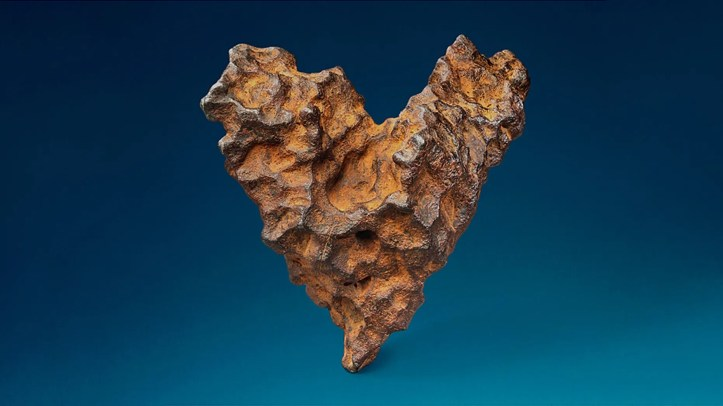 The British auction house is calling the meteorite
