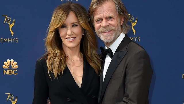 """""""Shameless"""" actor William H. Macy turned 69 Wednesday, only one day after his wife Felicity Huffman was charged for her alleged role in a nationwide college admissions scam."""