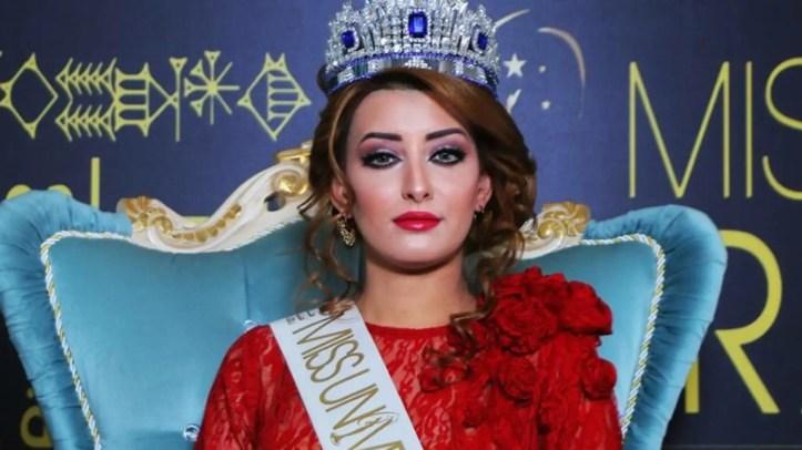 Miss Iraq Universe 2017, Sarah Idan