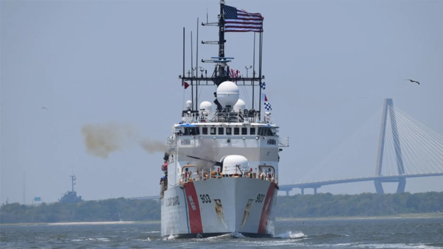 The U.S. Coast Guard Cutter Harriet Lane was involved last month in a drug interdiction operation in the Pacific Ocean that led to the seizure of 5,000 pounds of cocaine, worth $69 million.
