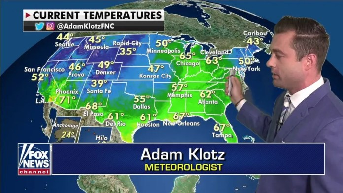 National Weather Forecast, 8 April
