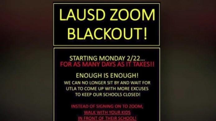 LA parents organize protests as teacher unions force school renapping