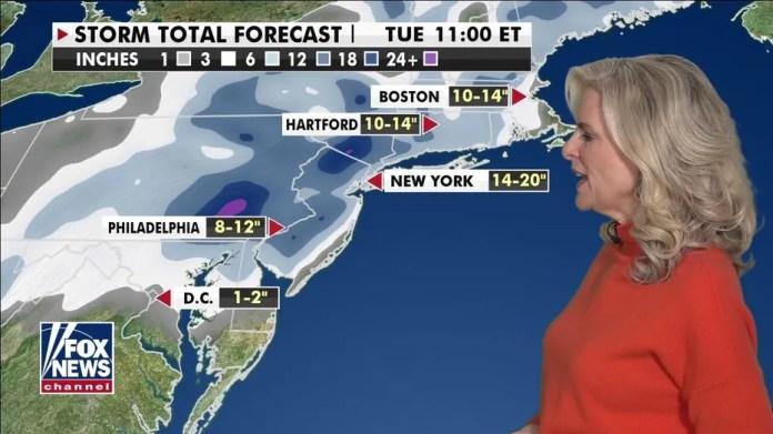 National Forecast, 1 February