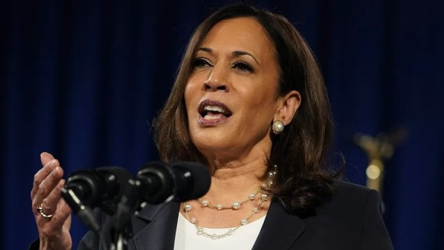 Kamala Harris says Blake family is great despite father's anti-Semitic comments, Facebook posts