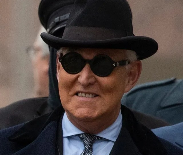 Roger Stone Sentenced To  Years For Lying Witness Tampering As