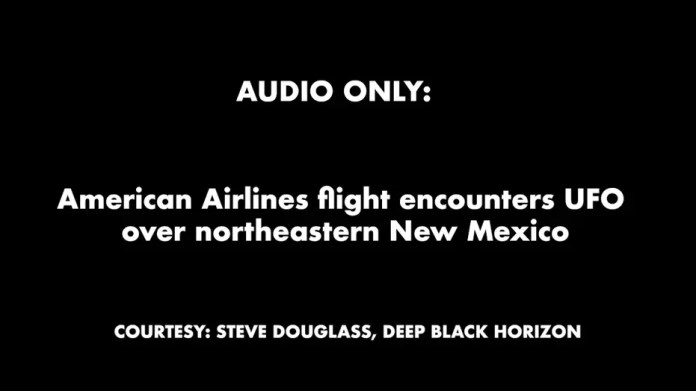 American Airlines Flight Faces New Mexico UFO: Audio Only