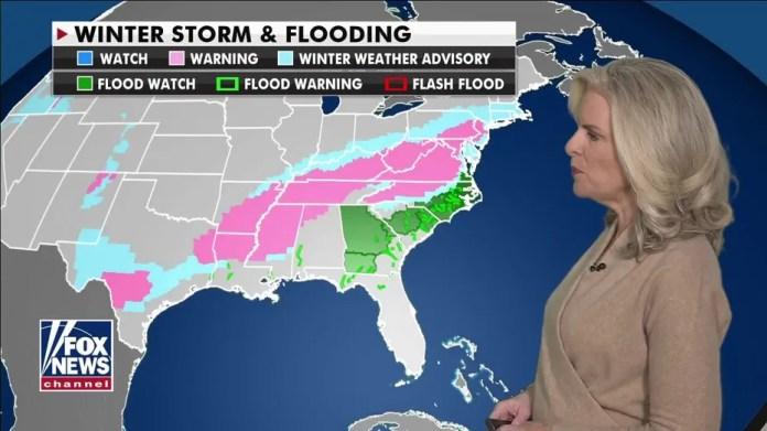 National Forecast, 18 February