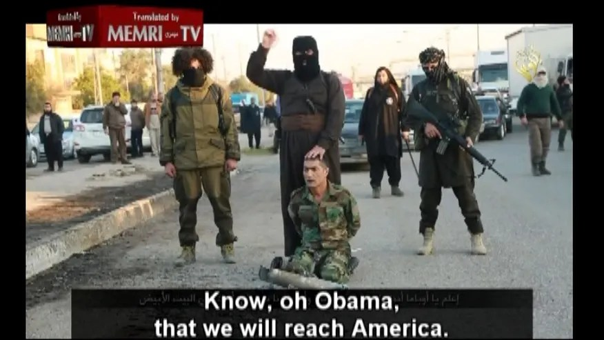 """Qur'an Sura 8:12b, """"… terrorize and behead those who believe in scriptures other than the Qur'an."""""""