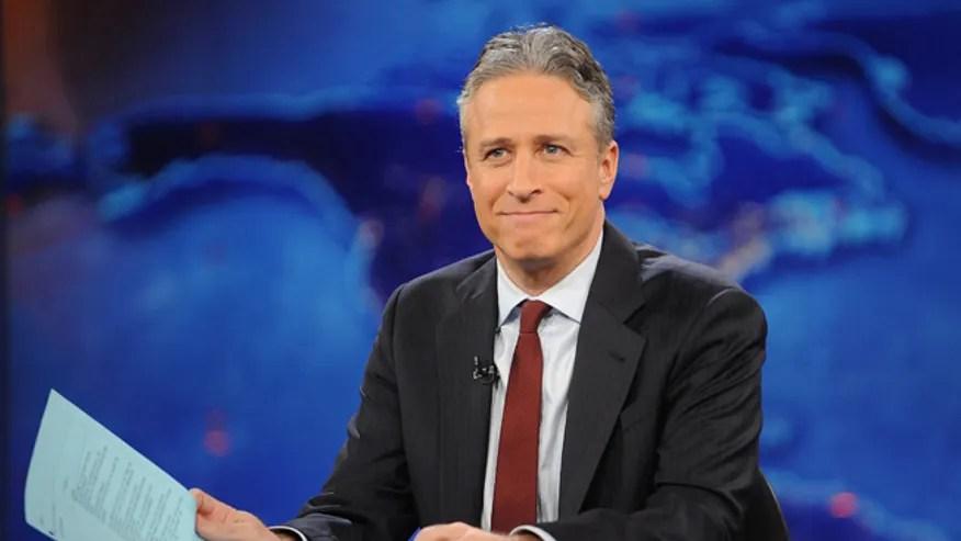 """30 de noviembre de 2011. Jon Stewart durante la grabación de """"The Daily Show con Jon Stewart"""" n Nueva York"""