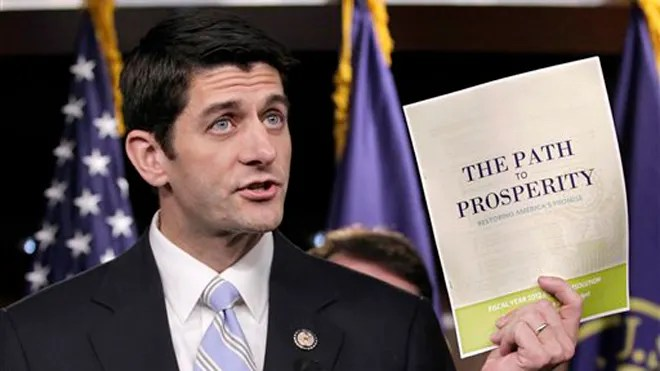 FILE: April 5, 2011: House Budget Committee Chairman Paul Ryan, R-Wis., touts his 2012 federal budget on Capitol Hill in Washington. (AP)
