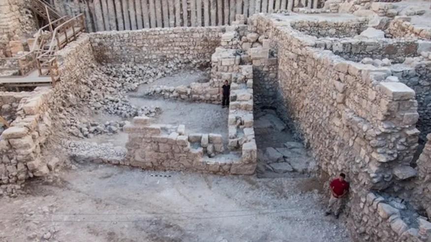 hasmonean-walls