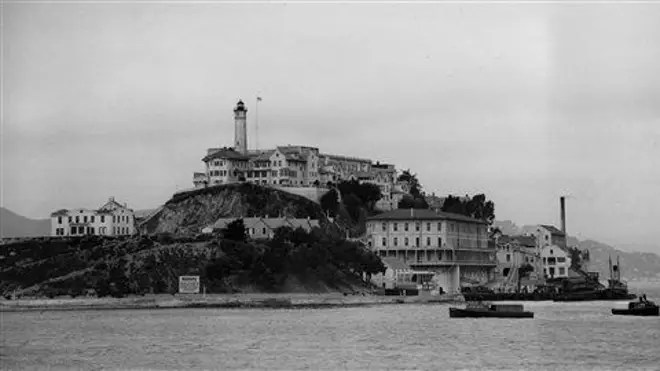 Hidden fortress found under Alcatraz