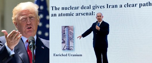 Trump reacts after Israeli PM Netanyahu shows damning evidence Iran is cheating on nuke deal