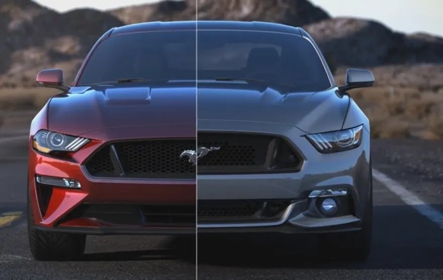 2017 and 2018 Ford Mustang Comparison