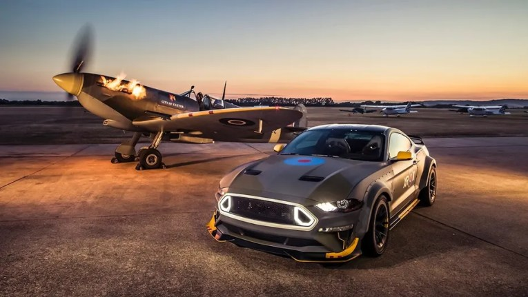 Custom Ford Mustang honoring America s WW II Eagle Squadrons to be     Ford