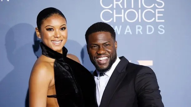 Actor Kevin Hart and wife Eniko Parrish arrive at the 22nd Annual Critics' Choice Awards in Santa Monica, California, U.S., December 11, 2016.  REUTERS/Danny Moloshok - HT1ECCC05857M
