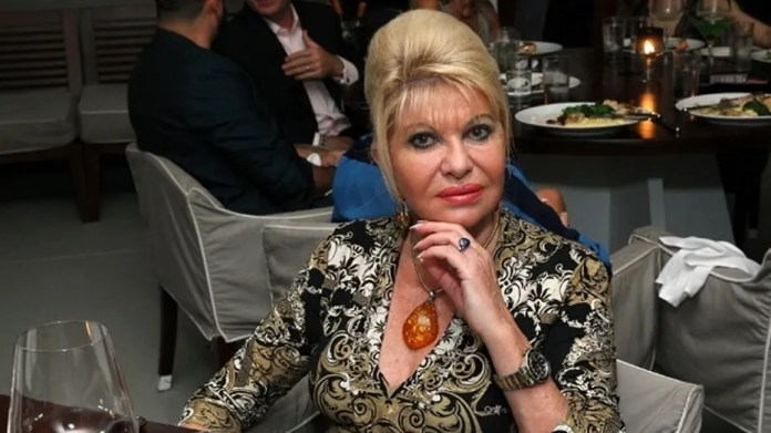 """Ivana Trump's new book, """"Raising Trump,"""" is scheduled to be released next week. She is pictured in Miami Beach, Fla., Dec. 1, 2015."""
