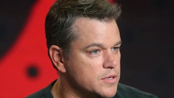 """Actor Matt Damon attends a news conference to promote the film """"Suburbicon"""" at the Toronto International Film Festival (TIFF) in Toronto, Canada, September 10, 2017.    REUTERS/Fred Thornhill - RC18B4503410"""