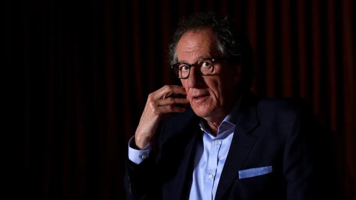 "Geoffrey Rush denied on Wednesday the allegations of ""inappropriate behavior"" against him."