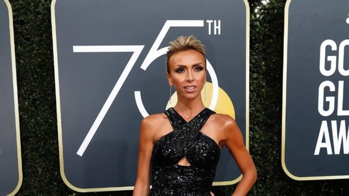 Giuliana Rancic asked a different stream of questions at the 75th Golden Globe Awards.