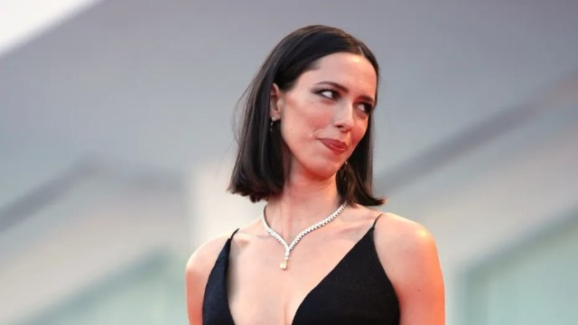"""Actress Rebecca Hall, seen in this file photo, said she is donating her earnings from """"A Rainy Day in New York"""" to the Time's Up coalition."""