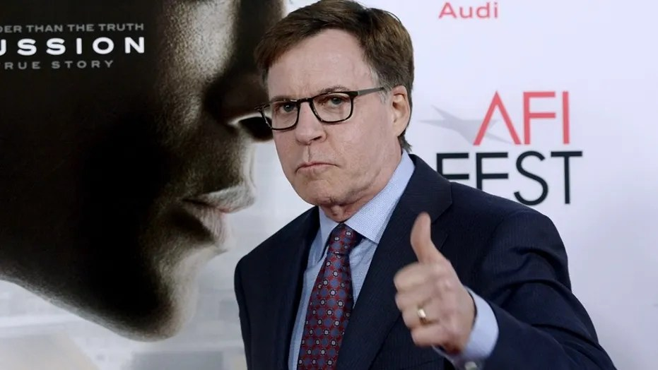 Sportscaster, Bob Costas speaks out about a Super Bowl LII special and since he is not hosting. Here Costas poses during a premiere of a film Concussion during AFI Fest 2015