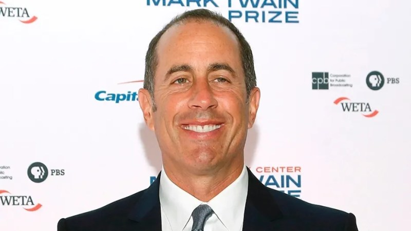 """Jerry Seinfeld didn't entirely dismiss the idea of a """"Seinfeld"""" reboot during an appearance on """"The Ellen DeGeneres Show."""""""
