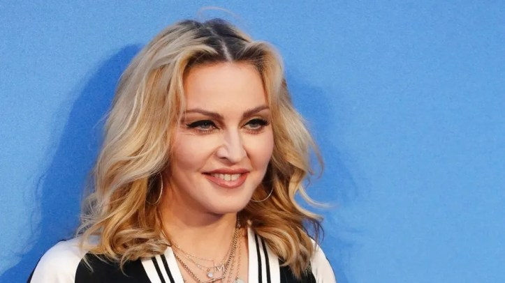 The door to Madonna's room at New York City's Chelsea Hotel recently sold for $16,250, a report said.