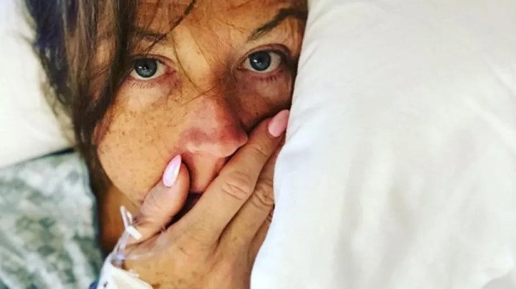 """Former """"Dance Moms"""" reality star Abby Lee Miller posted her first selfie after cancer diagnosis"""
