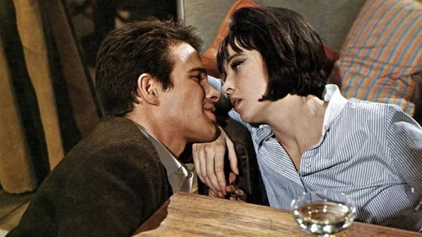 PROMISE HER ANYTHING, Warren Beatty, Leslie Caron, 1965