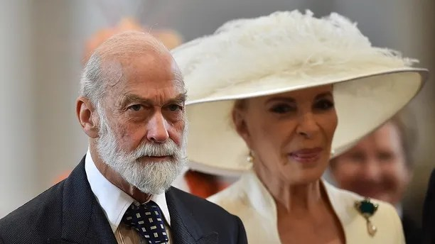 Britain's Prince Michael of Kent (L) and Princess Michael of Kent arrive for a service of thanksgiving for Queen Elizabeth's 90th birthday at St Paul's Cathedral in London, Britain, June 10, 2016. REUTERS/Ben Stansall/Pool - LR1EC6A0TUWIH