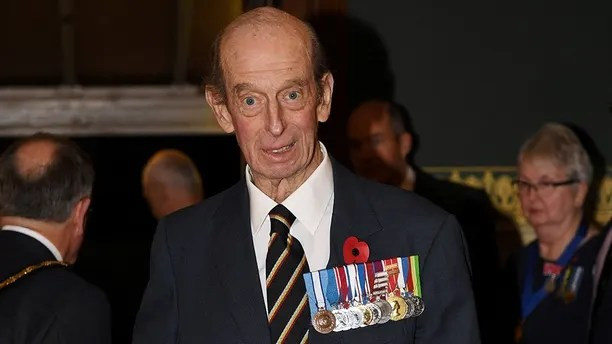 The Duke of Kent arrives at the annual Royal Festival of Remembrance at the Royal Albert Hall, in London, Britain, November 11, 2017. REUTERS/Stefan Rousseau/Pool - RC1A9BD2EEA0