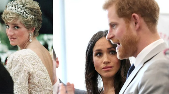 """Princess Diana's former personal secretary thinks the late icon would have sympathy for her son Prince Harry and his bride to be in what's turning out to be """"one of the most stressful weeks of their lives."""""""