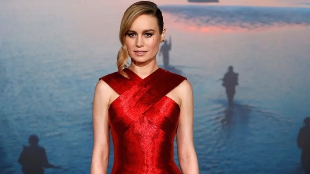 Brie Larson was an honoree for the Crystal Award for Excellence in Film at the 2018 Women in Film Crystal + Lucy Awards at the Beverly Hilton on Wednesday in Los Angeles, Calif.