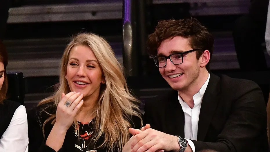 Ellie Goulding and Caspar Jopling's engagement was announced in a British newspaper on Aug. 7, 2018.