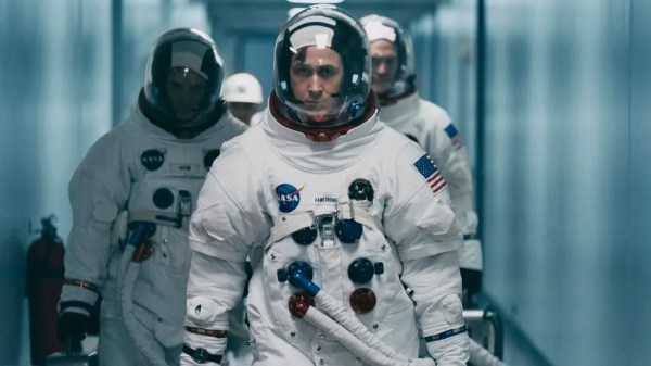 Ryan Gosling in First Man recensie