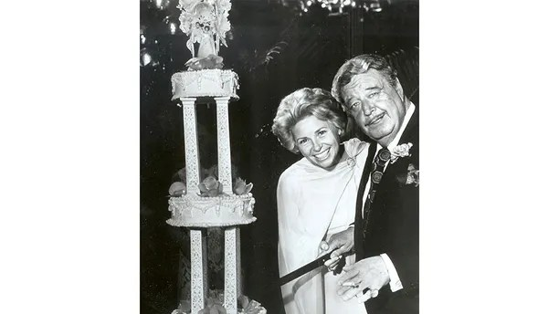 Jackie Gleason Wedding