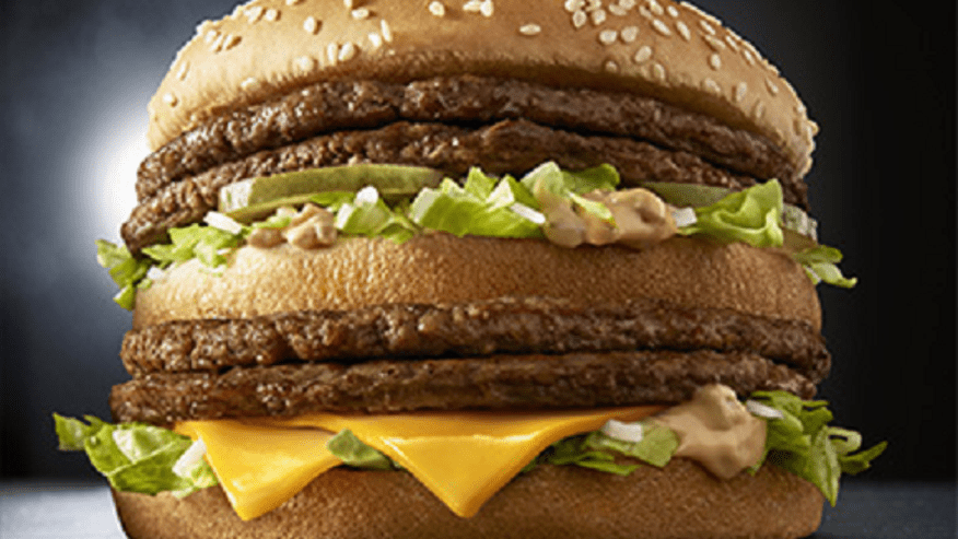 McDonald's rolls out 'Giga Big Mac' with four beef patties ...