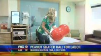 How the peanut ball may shorten labor time and reduce cesarean rates