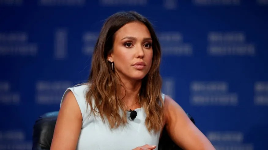 Jessica Alba, Founder and Chief Creative Officer of The Honest Company, speaks at the Milken Institute Global Conference in Beverly Hills, California, U.S., May 3, 2016.