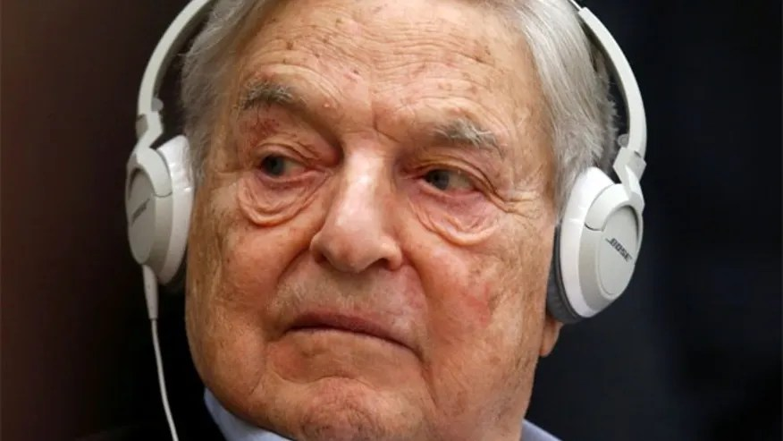 FILE: George Soros said in an interview that he hopes President-elect Donald Trump fails as president.