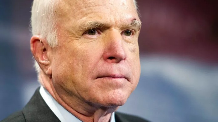 In an interview with CBS' 60 Minutes Sunday, Sen. John McCain said President Trump never apologized to him for suggesting he wasn't a war hero.